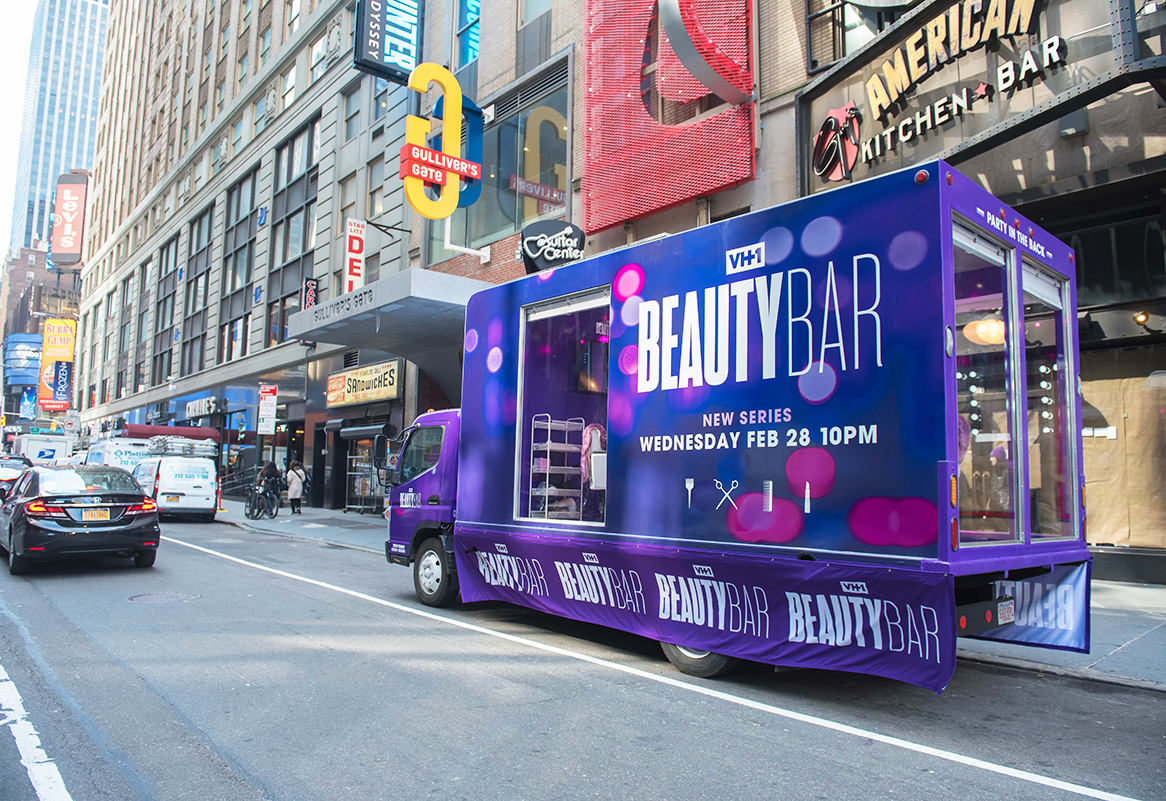 VH1's Glam N Go Beauty Truck Drives Touch-Ups and Tune-In