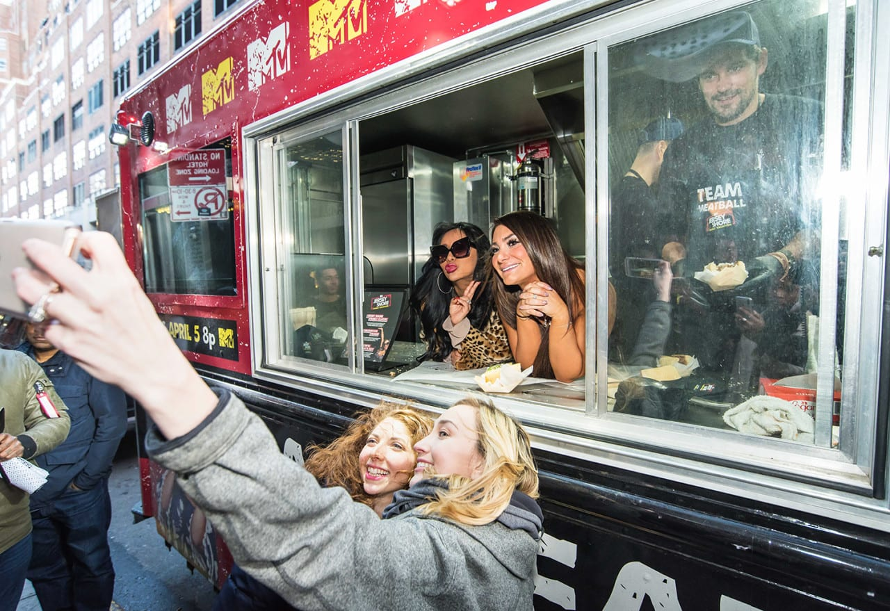 MTV Marks the Return of 'Jersey Shore' with Snooki, Deena and a Meatball Truck