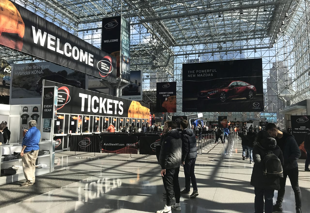 Storytelling, Design and Tech: Six Experiential Trends from the 2018 New York International Auto Show