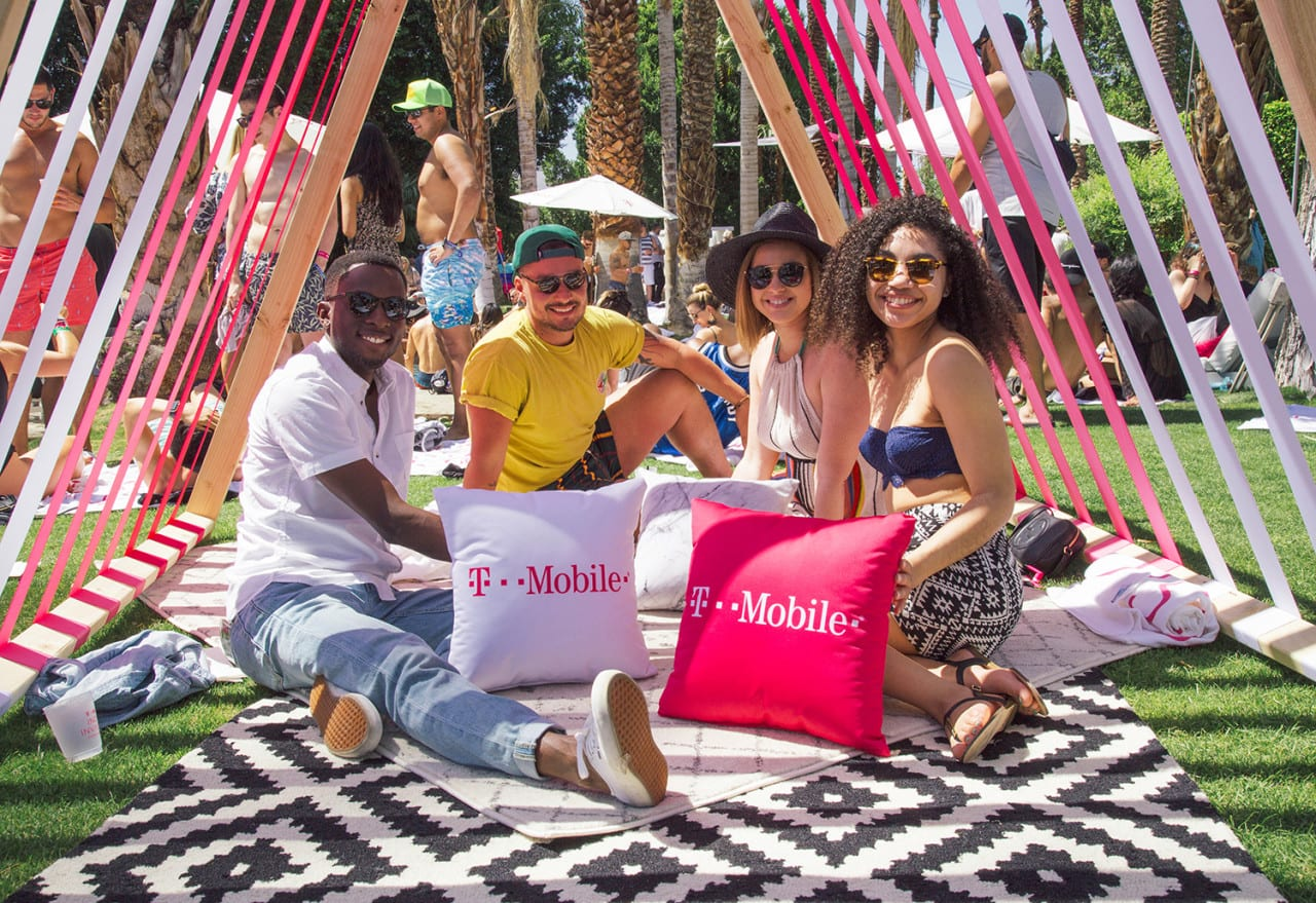 Pandora and T-Mobile 'Invade' Coachella With an Instagrammable Oasis