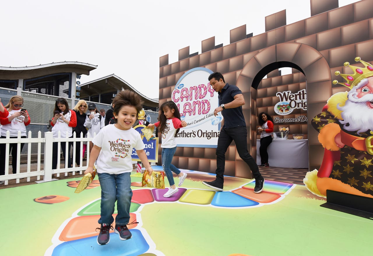 Werther's Creates a Life-Sized Version of Candy Land to Promote its Product Portfolio