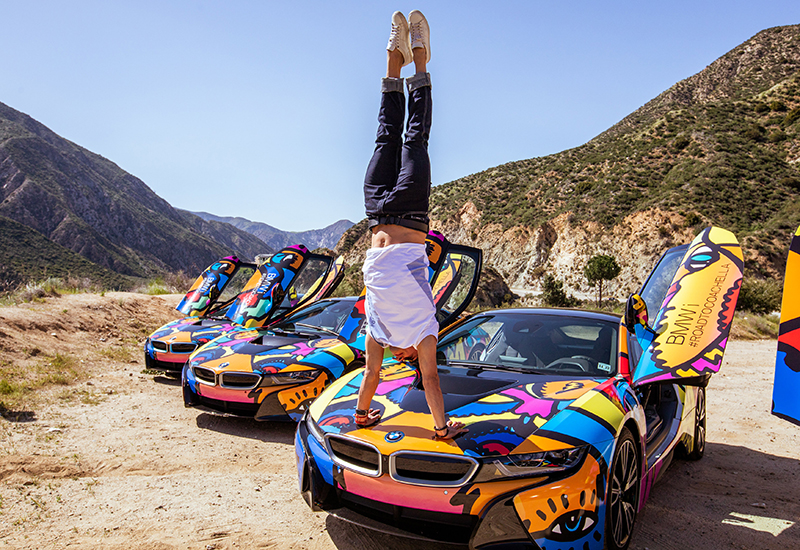 Road to Coachella: BMW i Sends 15 Influencers on a Content Creation Journey