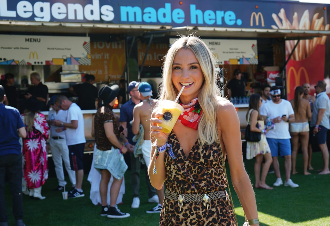 Menu-Inspired Photo Ops Keep Influencers Sharing at McDonald's VIP Coachella Event