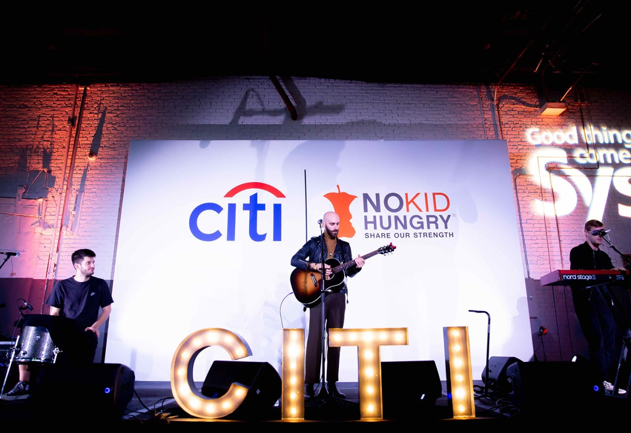 Citi Infuses Social Currency with a Charitable Twist at Taste of the Nation Events