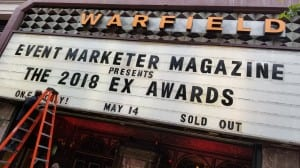 The 2018 Ex Awards took place at the historic Warfield Theatre.