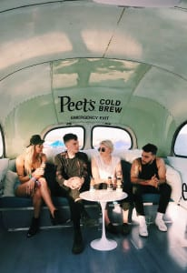 Peet's Coffee_Coachella 2018_7_PVRIS