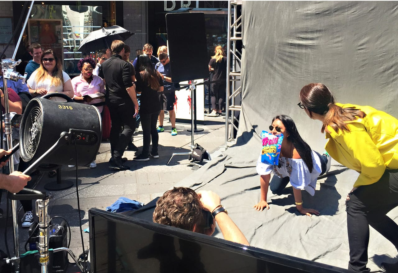 #ShowUsYourPackage: Trolli and 'Deadpool' Parody a High-Fashion Photo Shoot