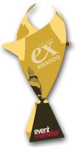 2018 Ex award trophy