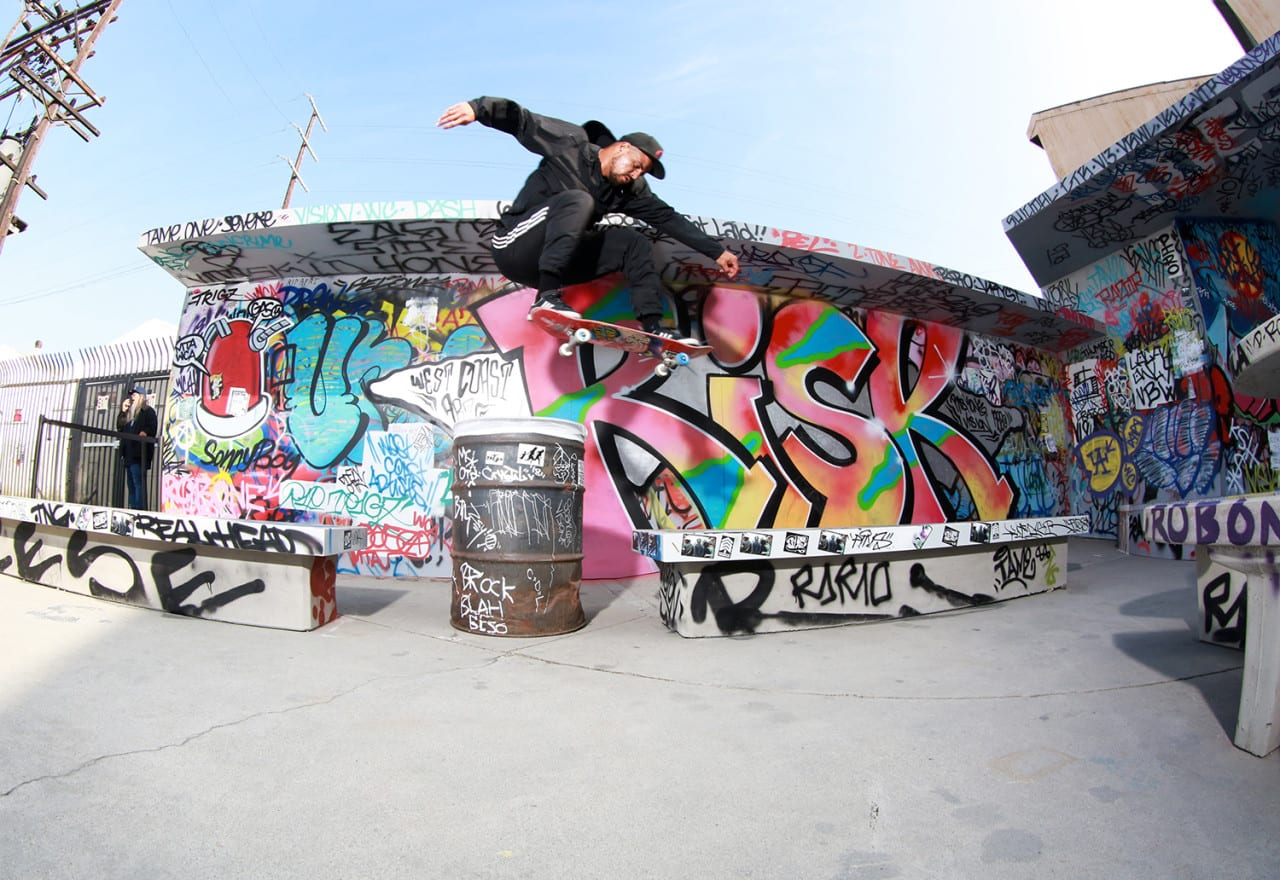 adidas Re-Creates the Iconic Venice Pavilion to Celebrate Skateboarding Culture and Street Art