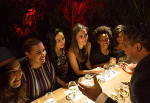 Bacardi Global Rum Master David Cid leads an intimate tasting and rum immersion.