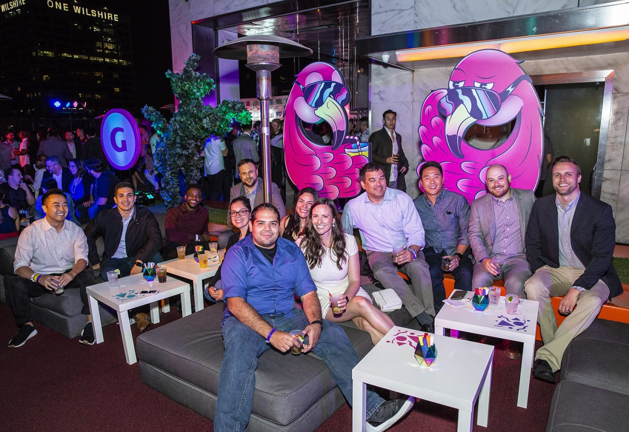 CBS Interactive Hosts a 'Miami Vice'-Themed Rooftop Event at E3