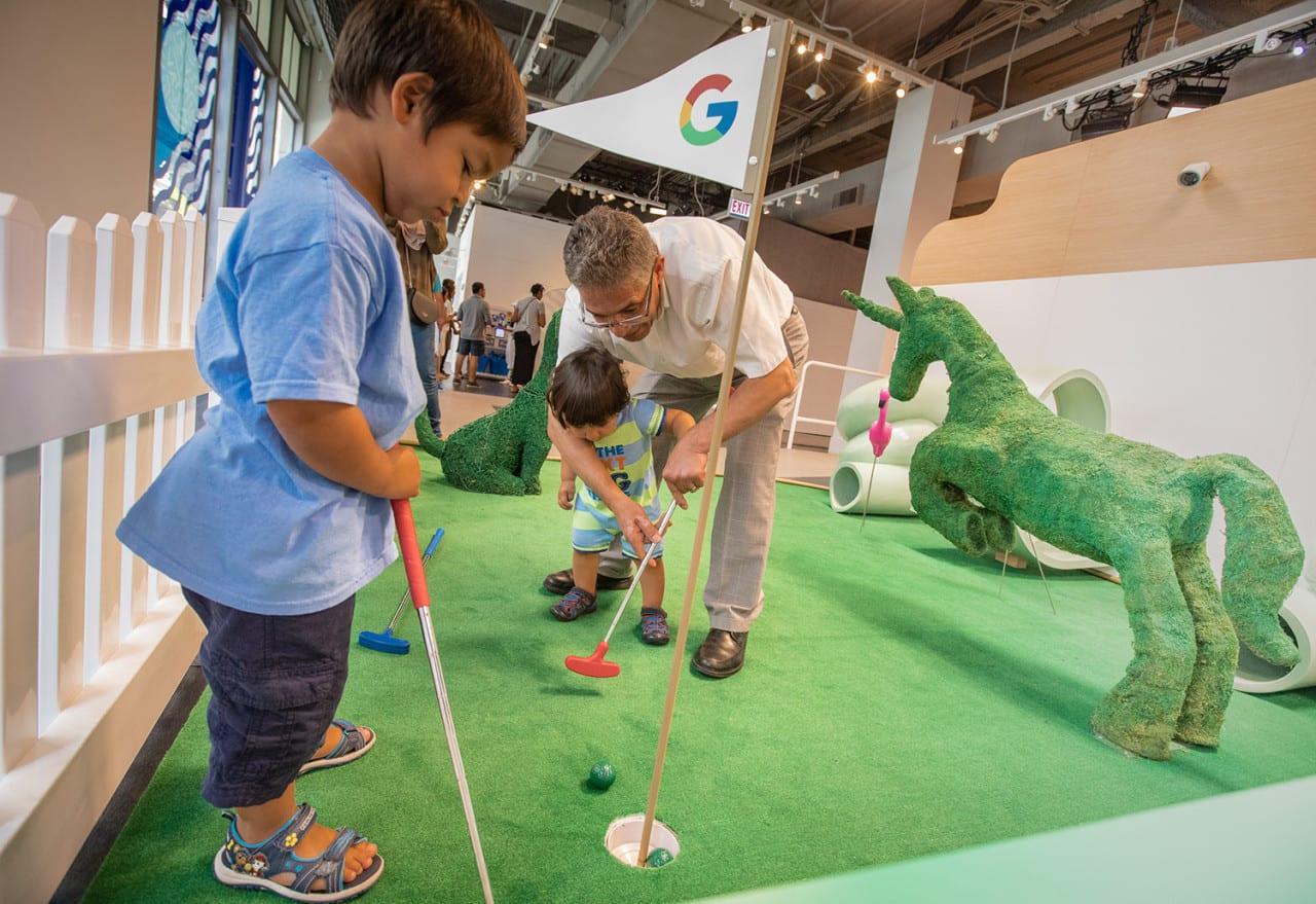 Google Home Mini Golf 2018_5