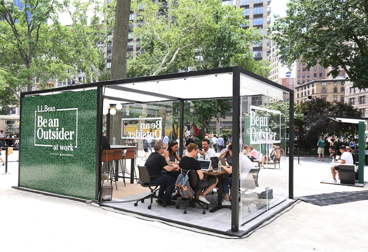Outdoor Offices Fuel L.L. Bean's 'Be An Outsider' Campaign