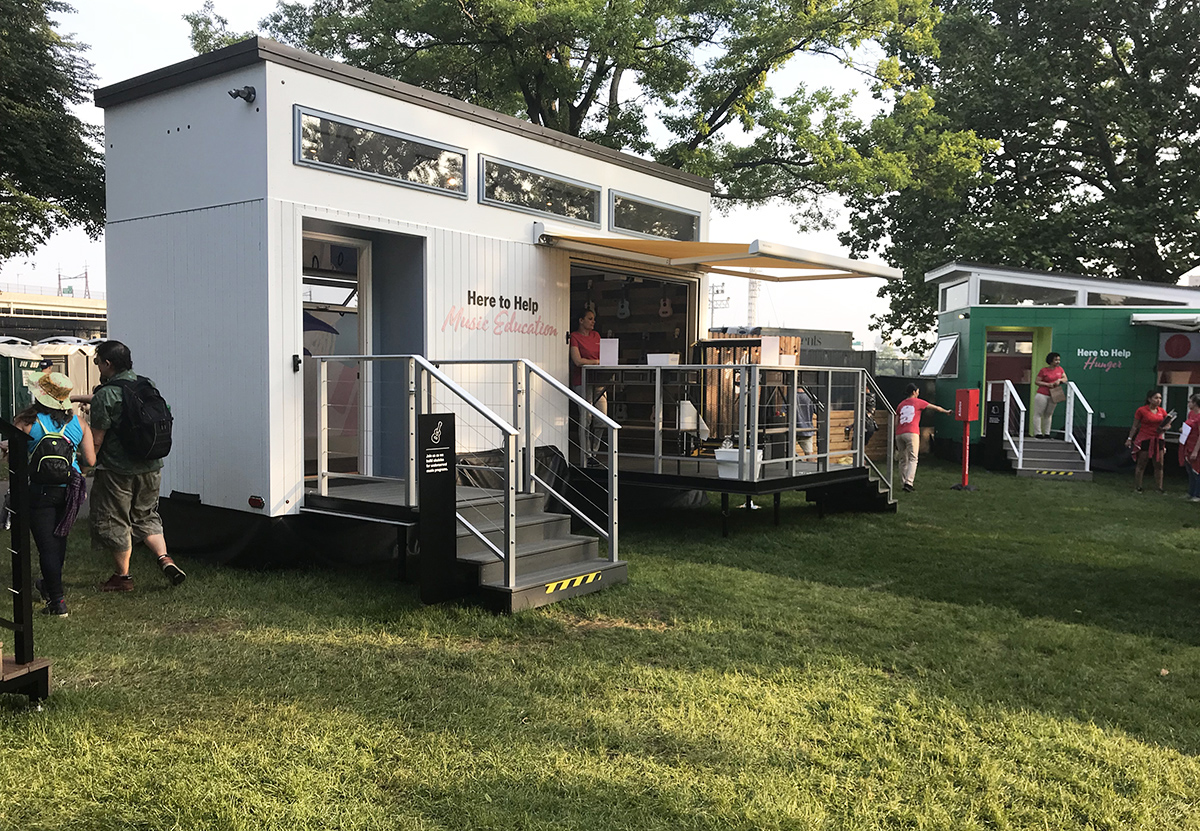 State Farm Activates a 'Neighborhood of Good' of Tiny Houses at Governors Ball
