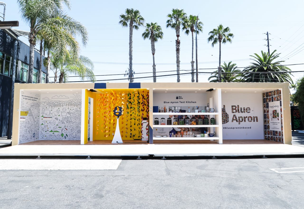 Blue Apron's 'Unboxed' Events Target an Expanding Demo