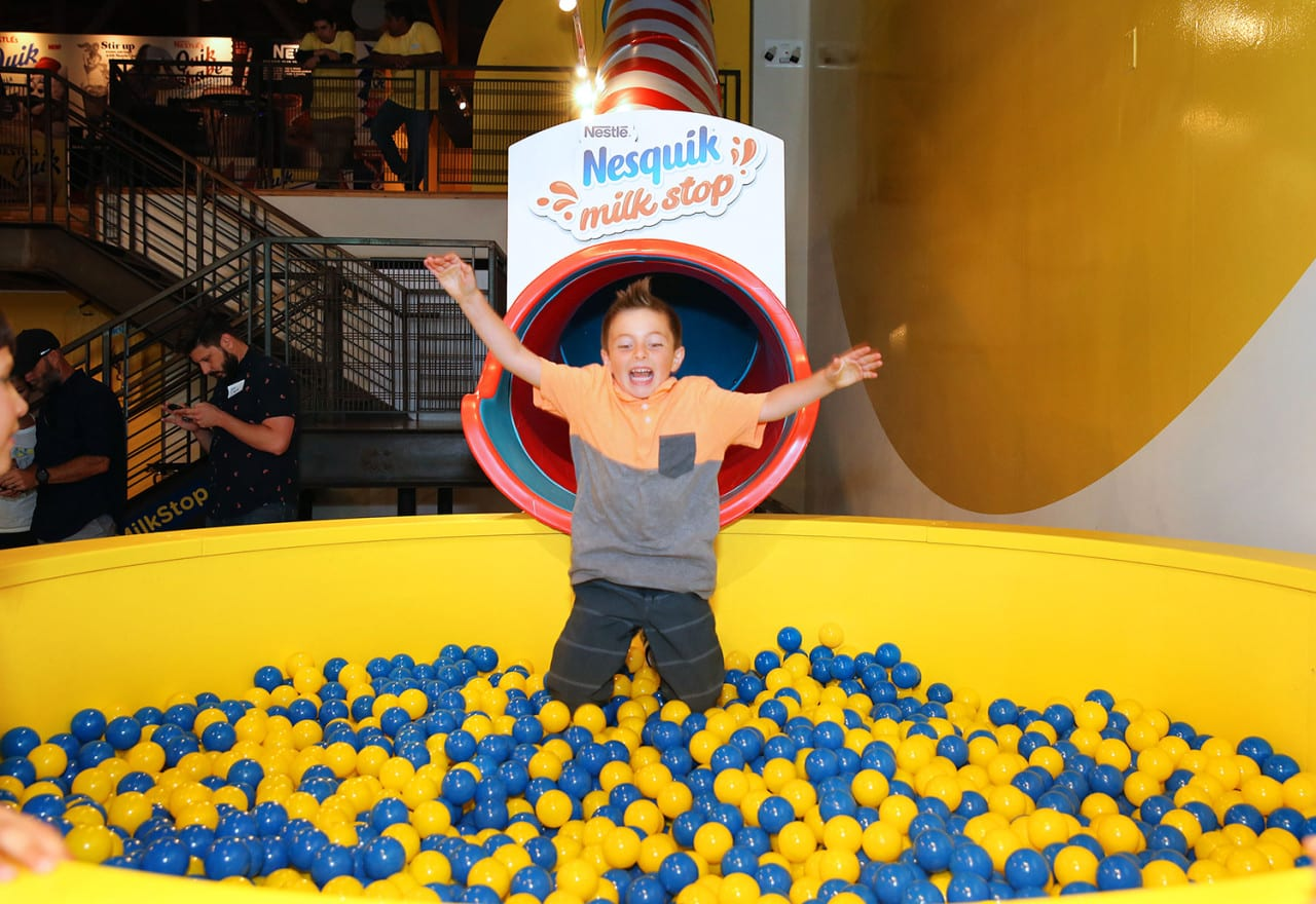The Nesquik Milk Stop: Nostalgia, Photo Ops and a Two-Story Straw Slide