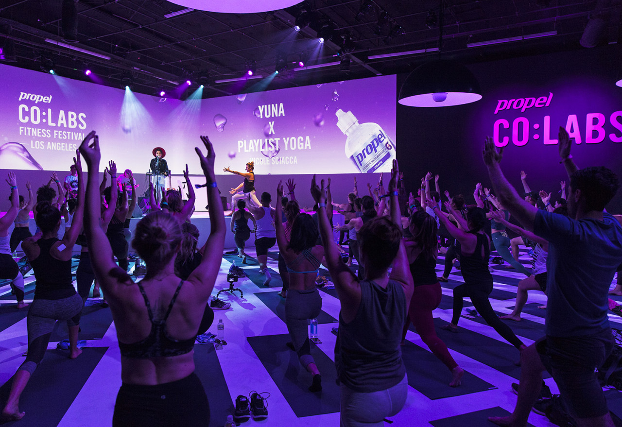 From Pop-ups to Property: Propel Water's Co:Labs Fitness Festival Program Expands