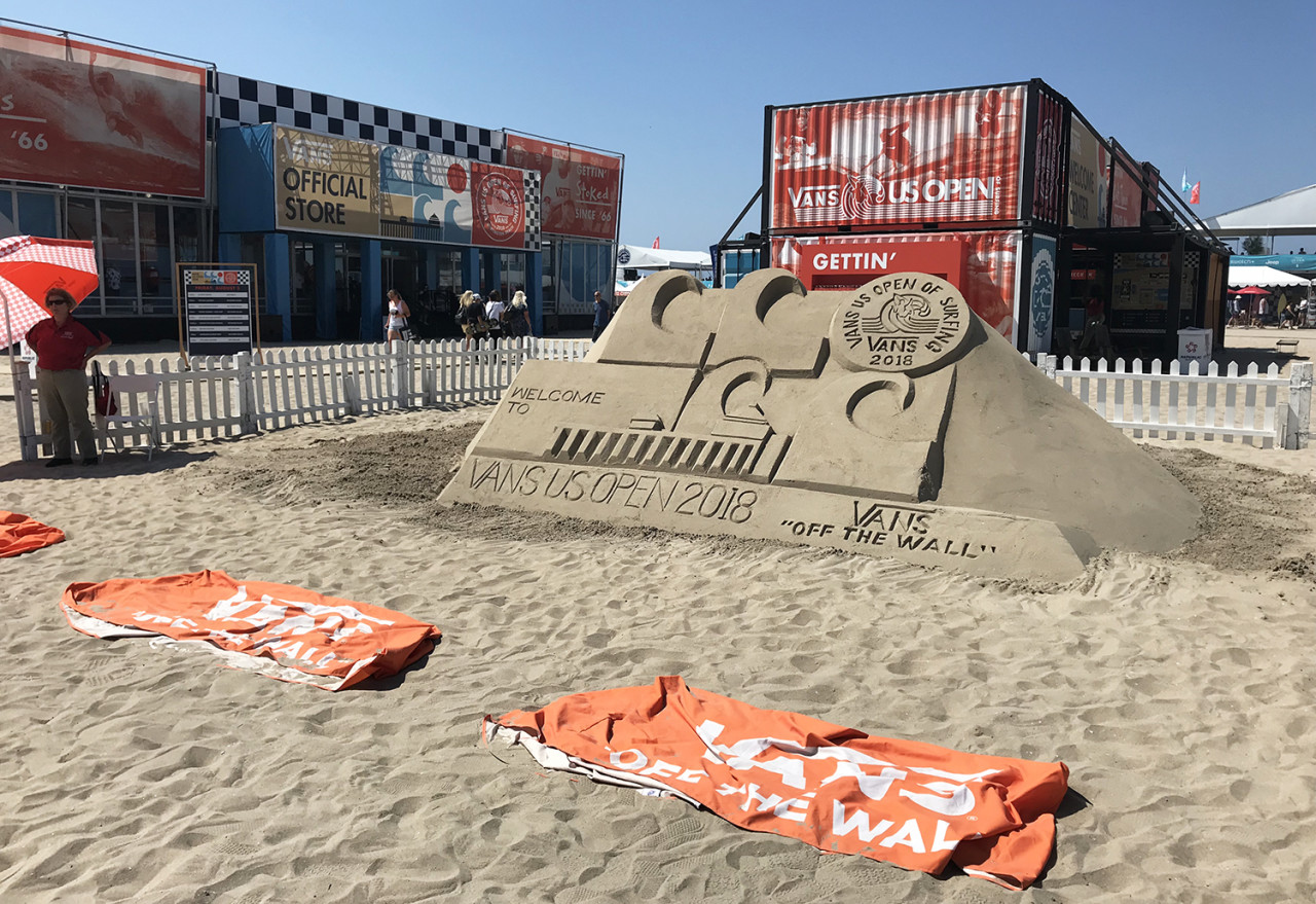 Surf, Sun & Skate: Vans US Open of Surfing Courts Beachgoers with Creative Workshops