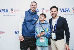 Visa World Cup 2018_Zlatan Meet and Greet