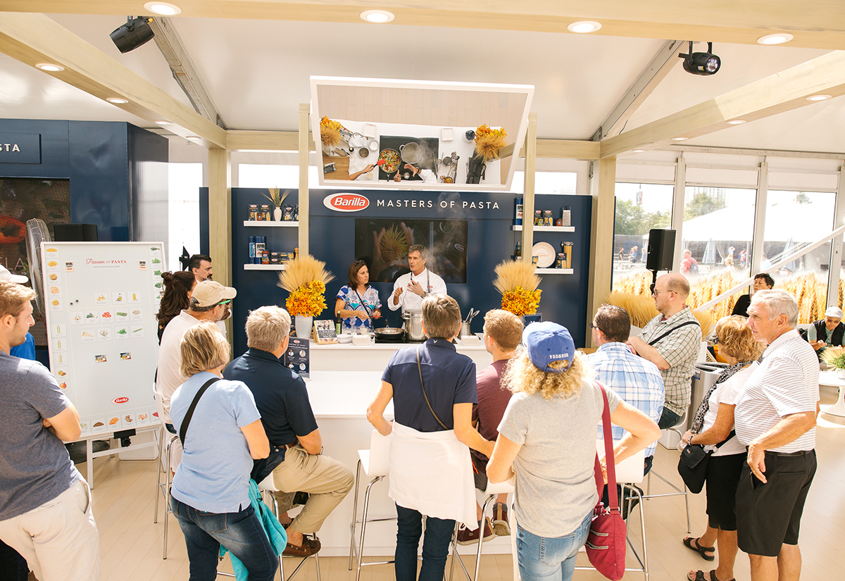 Cook-Offs, Influencers and 'Living Simply': Inside Barilla's Laver Cup Sponsorship
