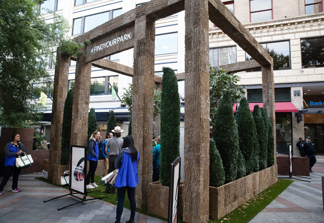Consumers Escape City Life at the National Park Foundation's Multisensory Pop-up