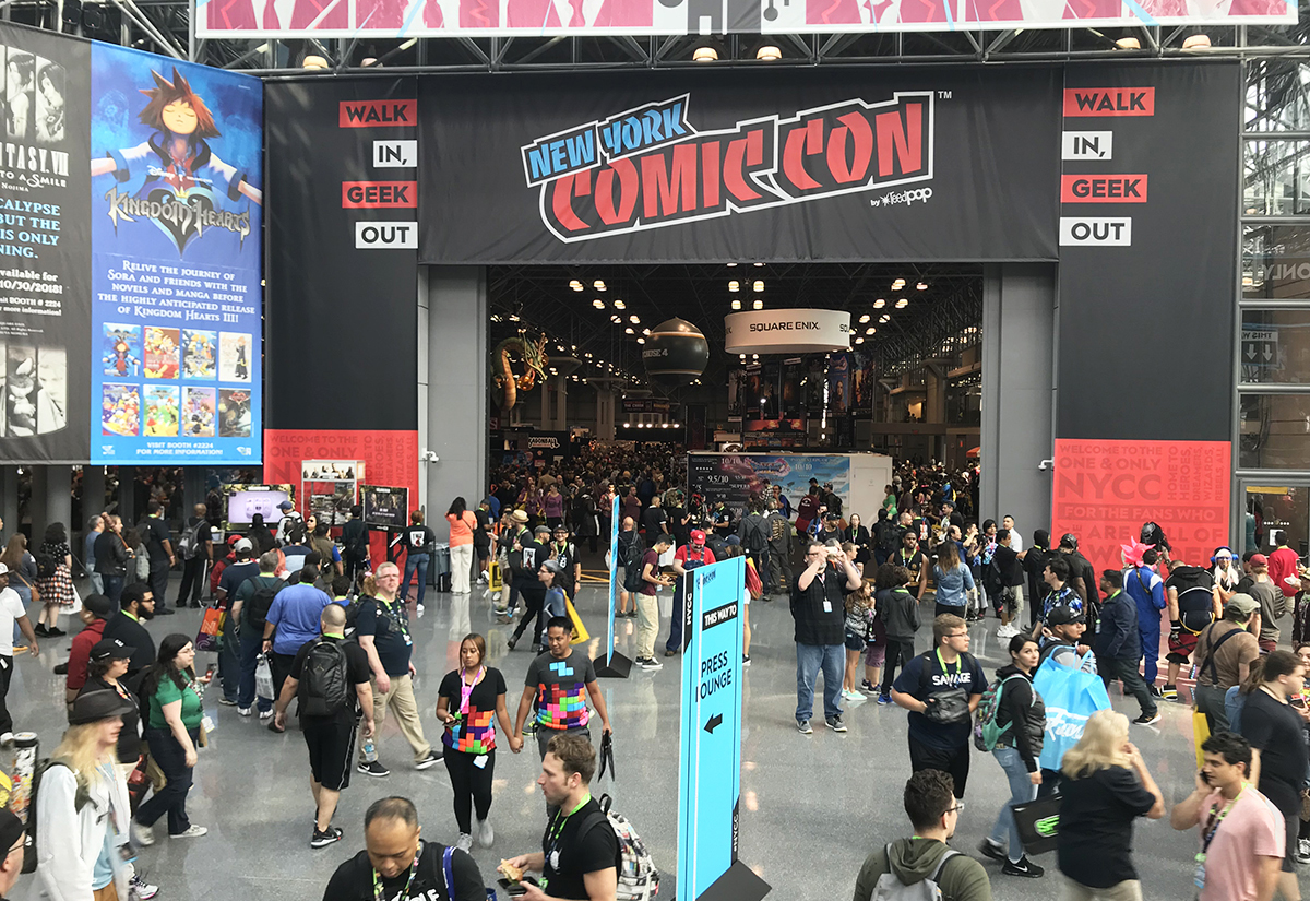 Our Picks for the Top Brand Experiences at New York Comic Con