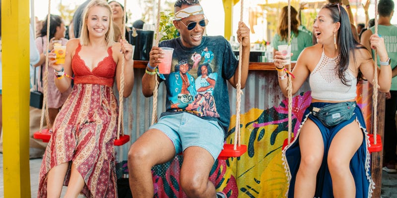 Bacardi's Festival Sponsorship Features Cocktail Education, Cause Marketing and Caribbean Vibes