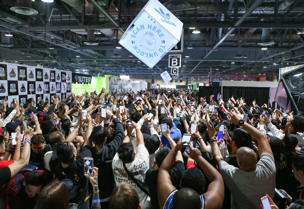 adidas Wins ComplexCon with AR Fueled Product Drops
