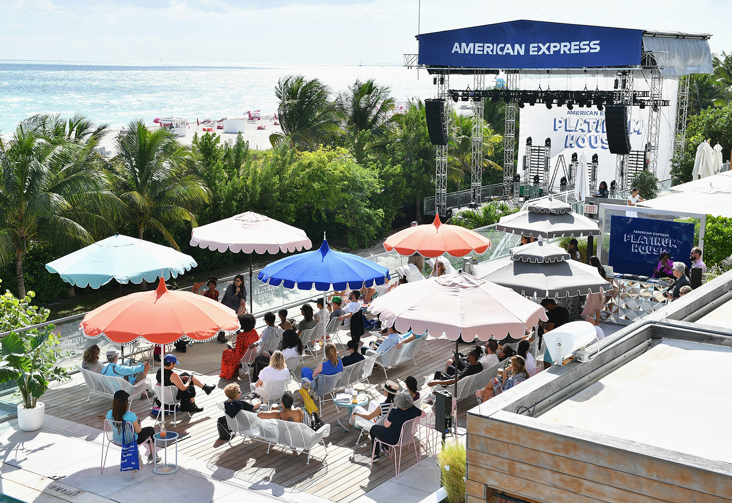 American Express Platinum House at Art Basel Alleviates Customer Pain Points With Networking Space and Food Trucks