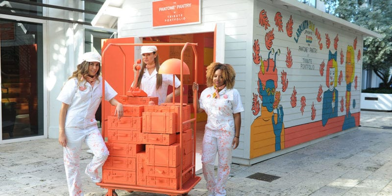 In The Pantone Pantry by Tribute at Art Basel, Consumers Explore the Color of the Year