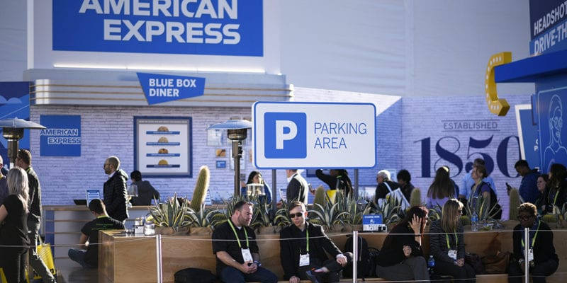 American Express Service Stations at CES Focus on Attendee Needs