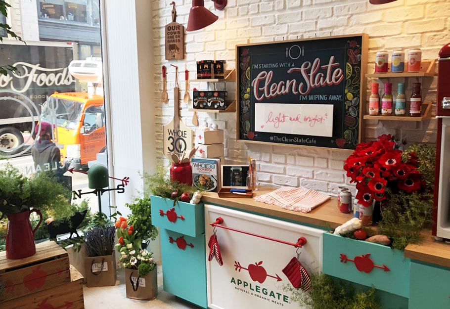 The Insta-Worthy Clean Slate Café Offers Consumers a Taste of Applegate