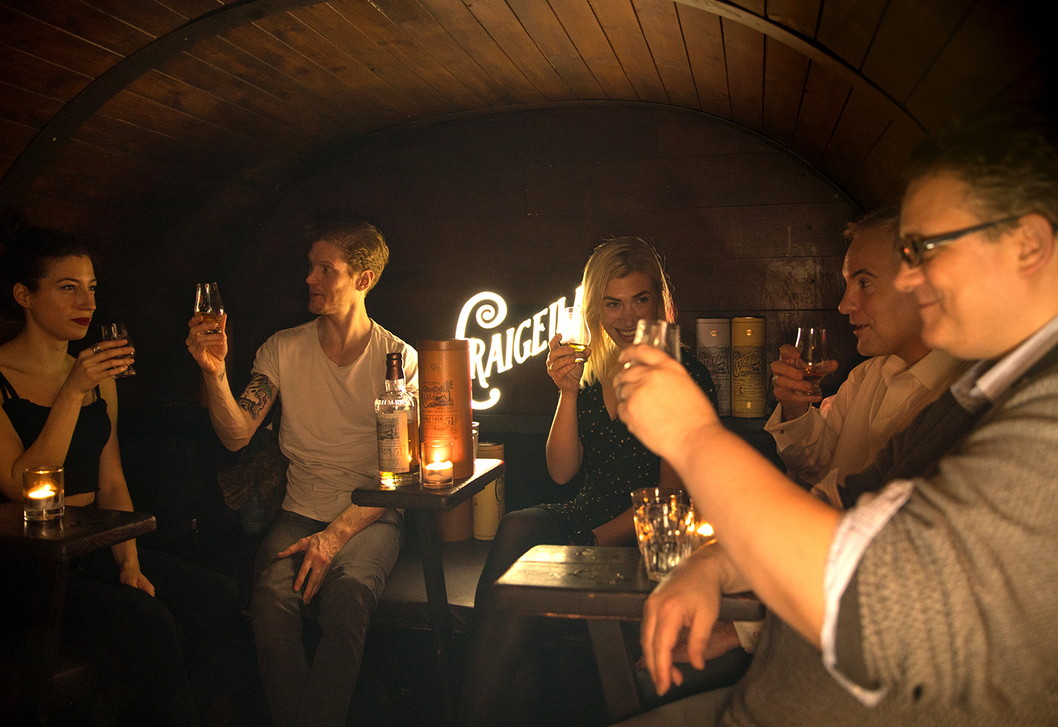 Craigellachie Serves Free Samples of its Prized Single Malt Scotch Inside a Traveling 'Tiny Bar'
