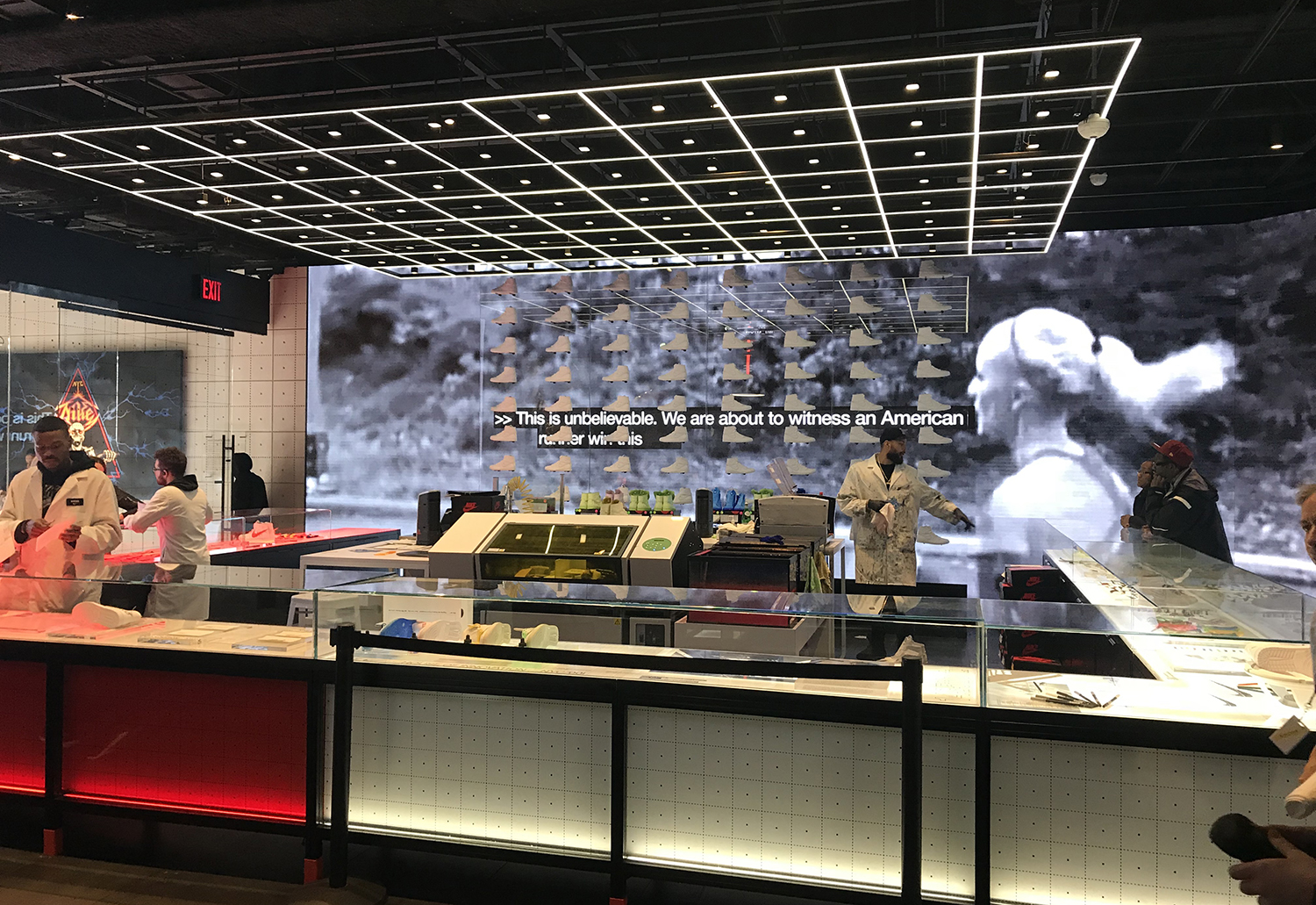 Photo Tour: Nike's House of Innovation Retail Experience Melds Online Shopping With Concierge Service
