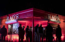 Famous Rao's Restaurant Pops Up with Wheels Up for Super Bowl Dinner Events