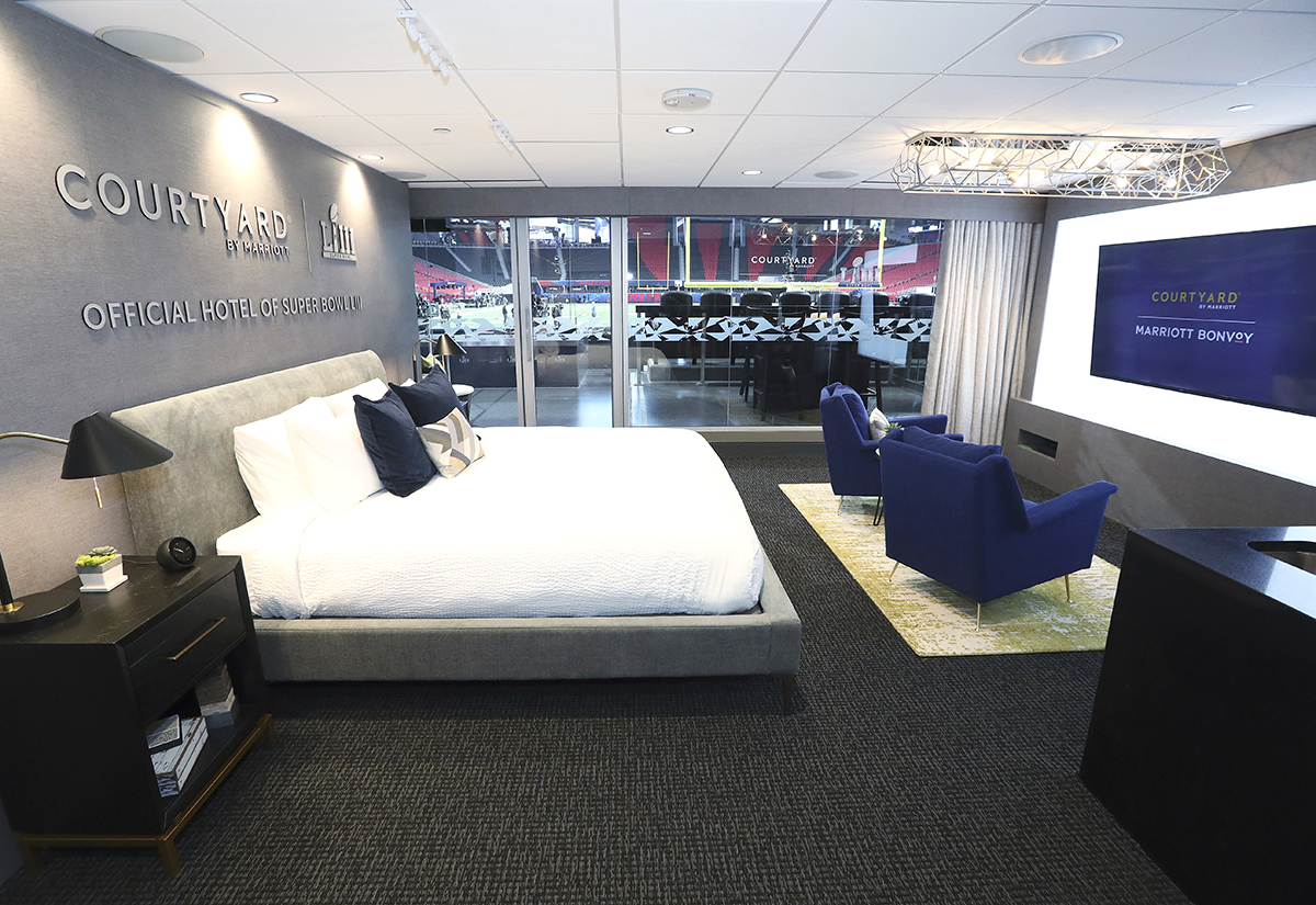 How Courtyard turned its Super Bowl sleepover into the ultimate loyalty program