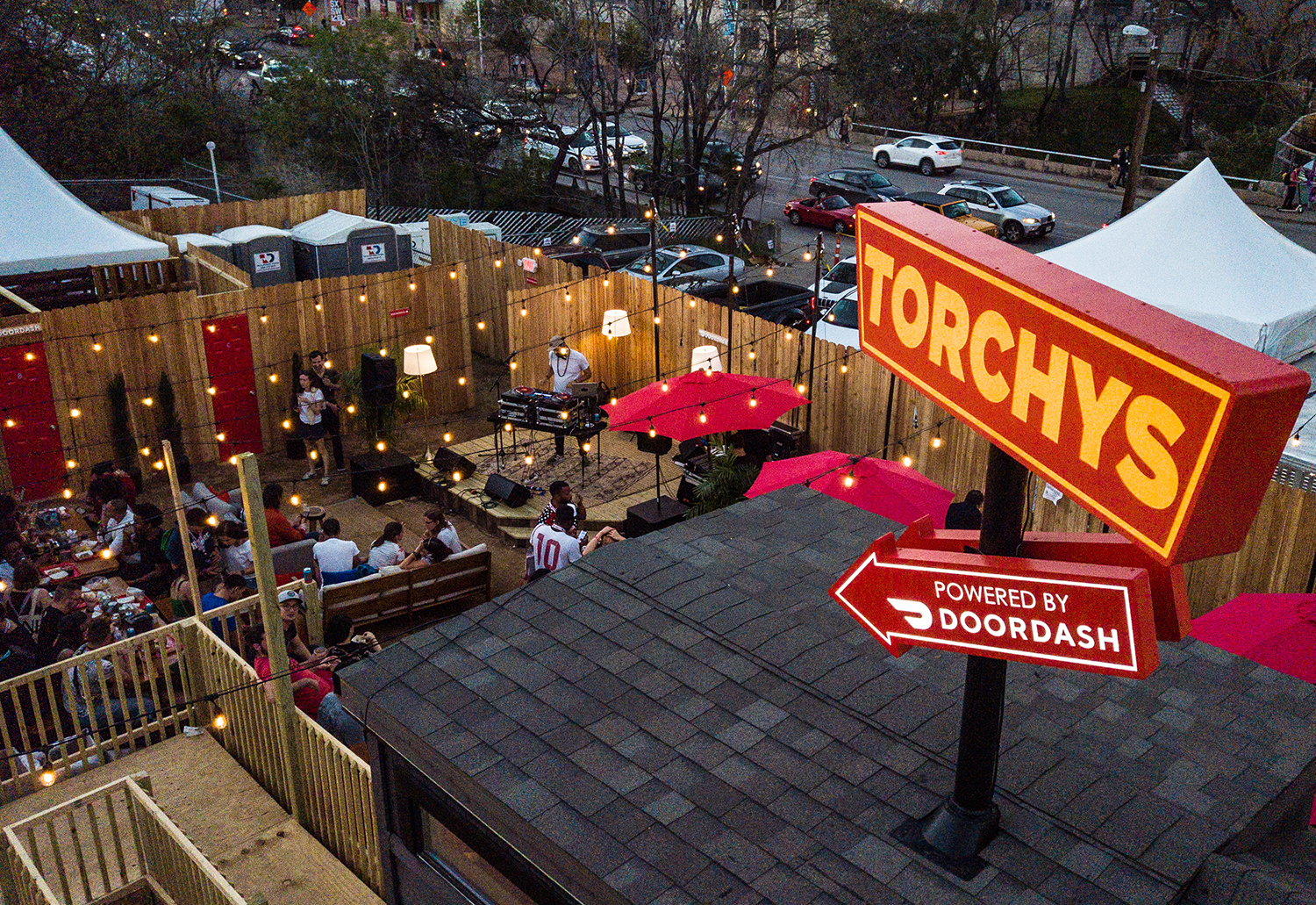 Torchy's Tacos, Music and a Tiny House: Inside DoorDash's First SXSW Event
