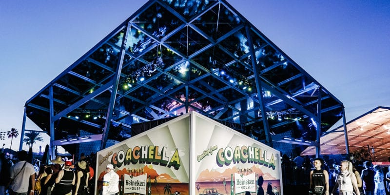 Open, Vintage and Casual: Heineken House is Revamped at Coachella