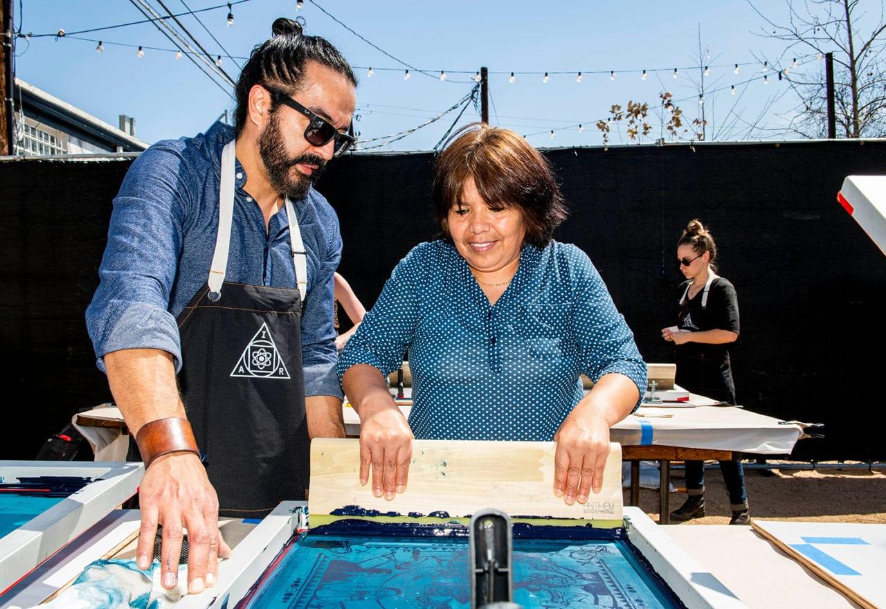 At SXSW, Facebook Opens the Doors to its Art Department CSR Program