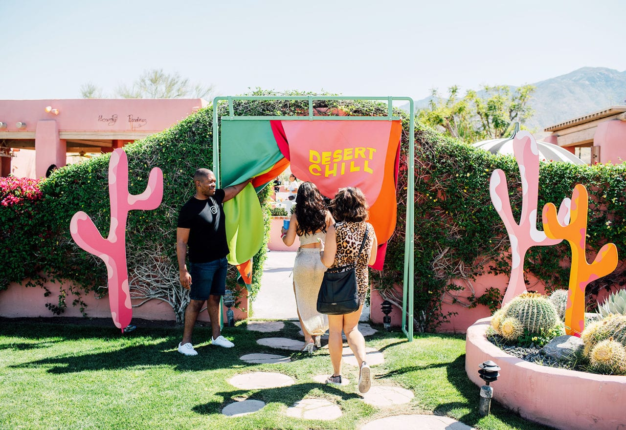 Inside Instagram's Inspiration-rich Space for Artist Influencers at Coachella