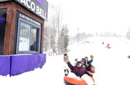 Taco Bell Canada Creates a 'Slide-Thru Window Activation for Tubers in Toronto