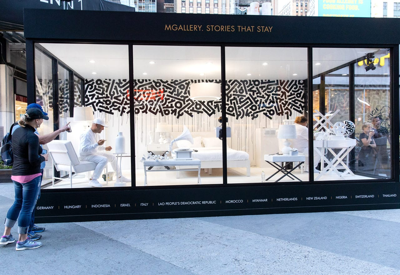 Masterpiece Suite: MGallery Creates a 24-Hour Interactive Hotel Room Installation