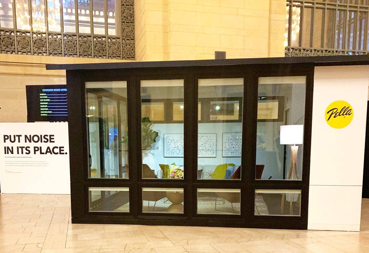 Pella Puts a City on Mute with a 'Noisy' Demo of its Windows and Doors