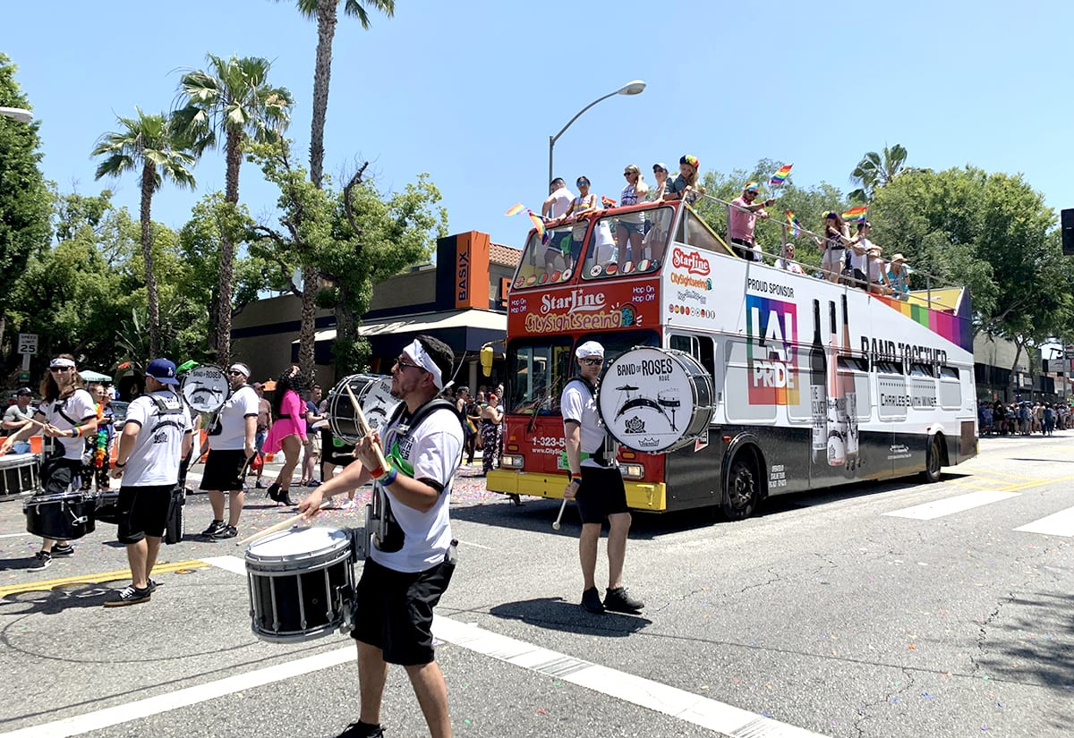 Charles Smith Wines at L.A. Pride: Drumlines, Drag Queens and a Double-Decker