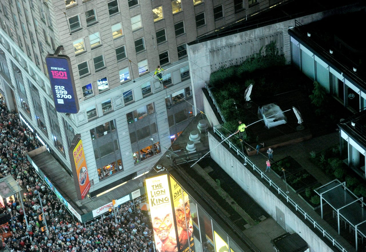 Four Lessons from the Production of Nik Wallenda's Times Square High-Wire Stunt