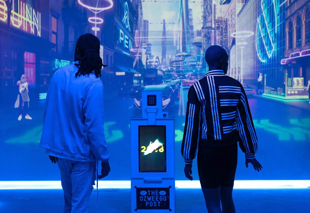 Ozweego Launch: adidas Originals Opens up a Futuristic Portal