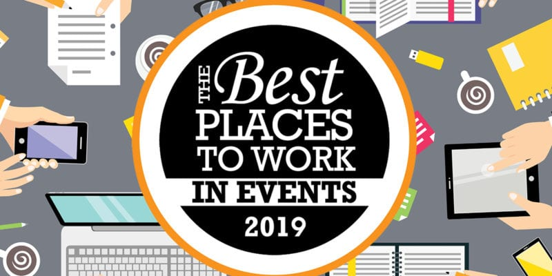 Best Places to Work in Events 2019