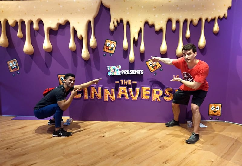 Families Take Multisensory Tours of Cinnamon Toast Crunch's 'Cinnaverse'