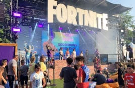Emotes, Ballers and Pickaxes: Our Editor Glides into the Fortnite World Cup