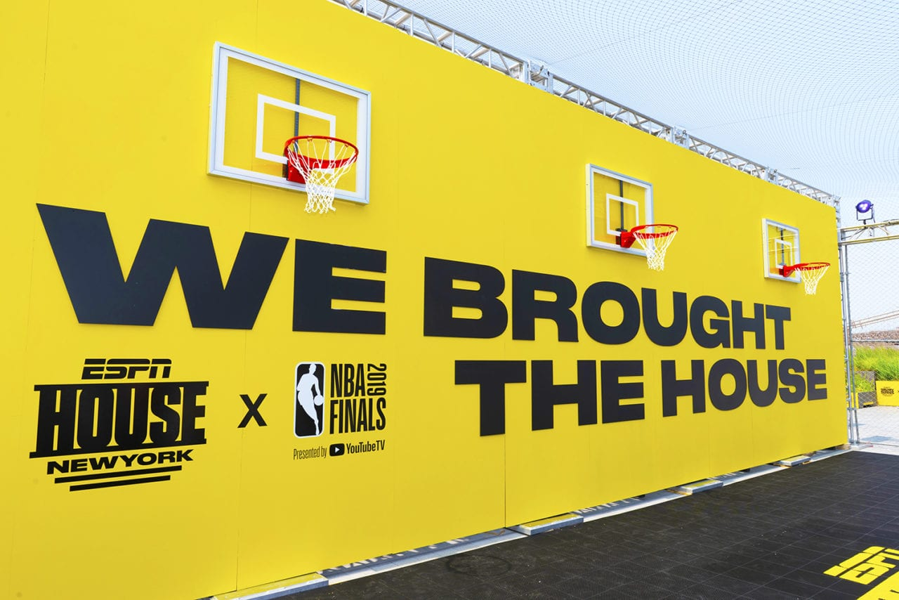 Espn House Offers Fan Events At Nfl Draft Nba Finals